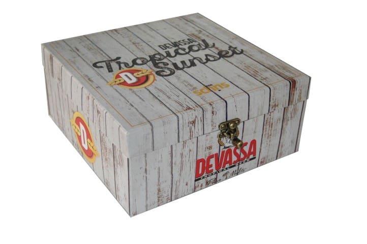 Caixa personalizada para cerveja