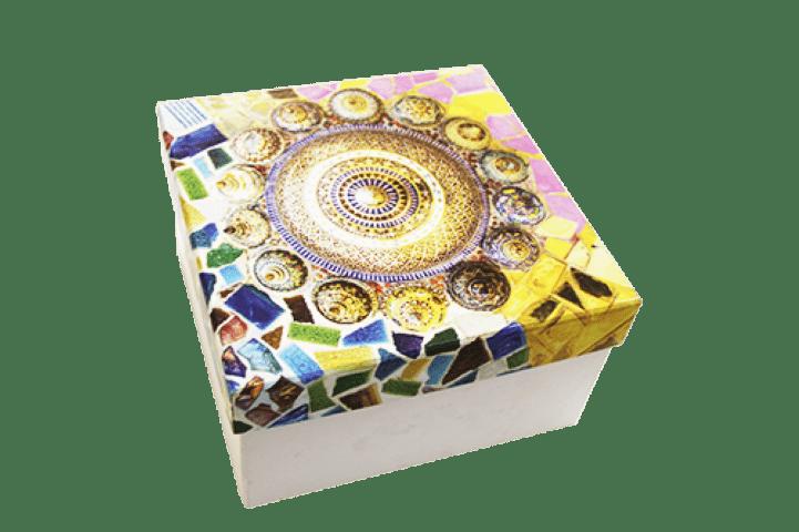 Caixas papel kraft personalizadas