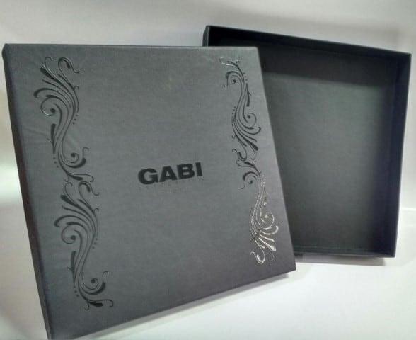 Caixa papel personalizada