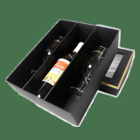 Caixa personalizada para vinho